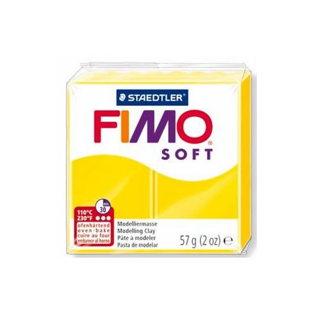 Fimo Soft Lemon 56g