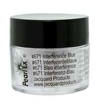 Interference Blue Pearl Ex Pigment 3g