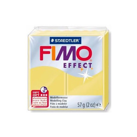 Fimo soft effect citrine 56g
