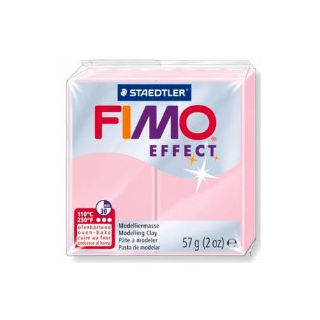 Fimo soft effect rose quartz 56g