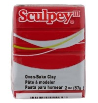 Sculpey III Red