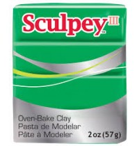 Sculpey III Emerald ***OUT OF STOCK***