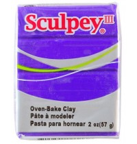 Sculpey III Purple ***OUT OF STOCK***