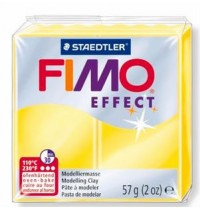 Fimo Soft Translucent Yellow 56g