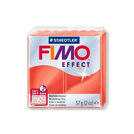 Fimo Soft Translucent Red