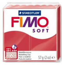 Fimo Soft Cherry Red 56g *ONLY 1 IN STOCK*