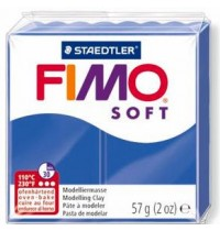 Fimo Soft Brilliant Blue 56g