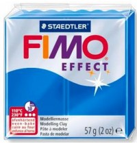 Fimo Soft Translucent Blue 56g