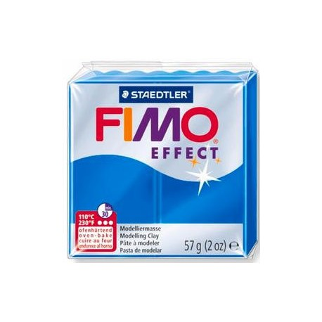 Fimo Soft Translucent Blue