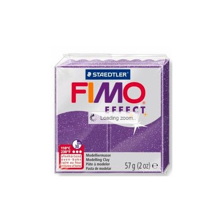 Fimo Soft Glitter Purple
