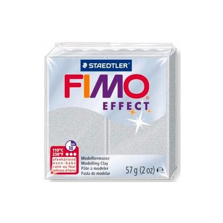 Fimo Soft Metallic Silver