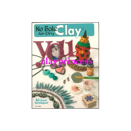 No Bake Air Dry Clay