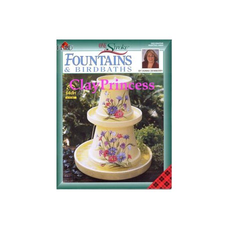 FolkArt Fountains & Birdbaths Book