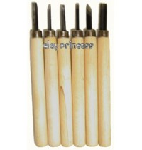 Carving Tool set of 6