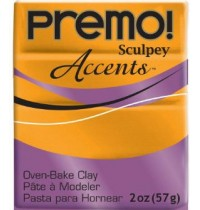 Premo Sculpey Accents 18K Gold
