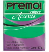 Premo Sculpey Accents Green