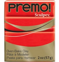 Premo Sculpey Cadmium Red * ONLY 1 IN STOCK*