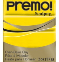 Premo  Sculpey  Cadmium Yellow *OUT OF STOCK*