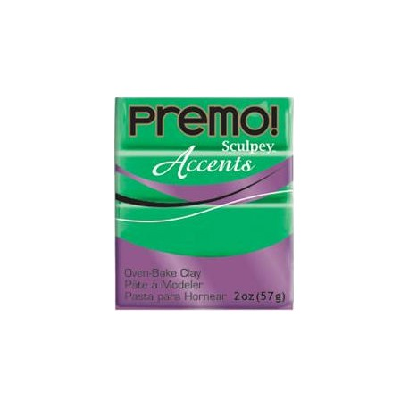 Premo Accents Bright Green Pearl