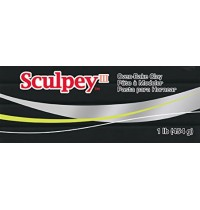 Sculpey III Black 454g *OUT OF STOCK*