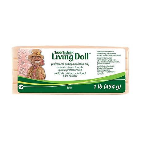 Sculpey Living Doll Beige