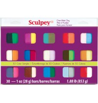 Sculpey Sampler Pack 30 Colour
