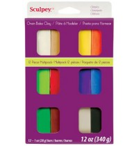 Sculpey Classic Multipack 12 Pieces *OUT OF STOCK*
