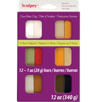 Sculpey Natural Multipack 12 Pieces *OUT OF STOCK*