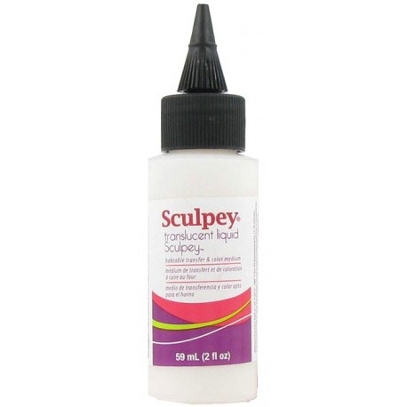 Sculpey Liquid Polymer Clay Translucent
