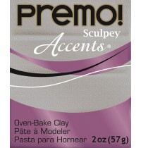Premo Accents White Gold Glitter