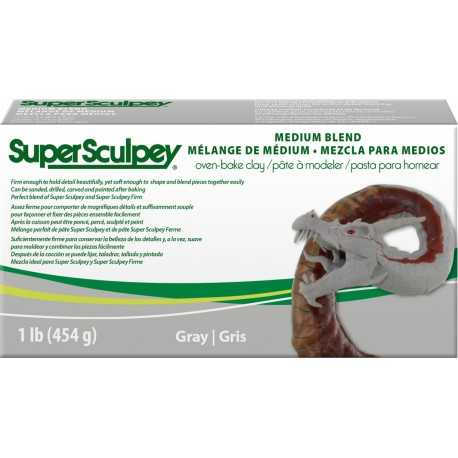 Super Sculpey Medium Blend 450g