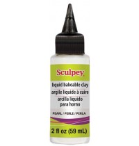 Sculpey Liquid Polymer Clay Pearl