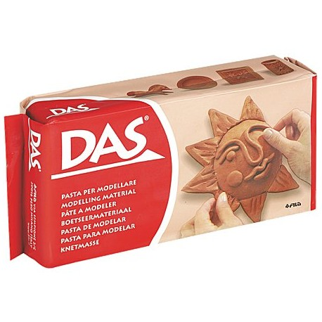 DAS Terracotta Air Dry Clay 500g