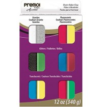 Premo Accents Mixed Effects Set 12 Pieces