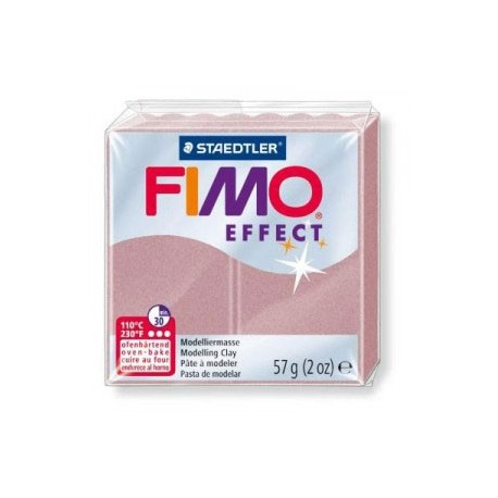 Fimo Soft Effec Rose Gold Pearl 56g