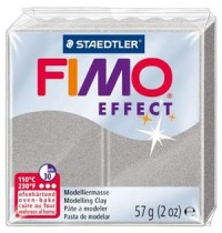 Fimo Soft Effect Silver Pearl 56g