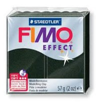 Fimo Soft Effect Black Pearl 56g
