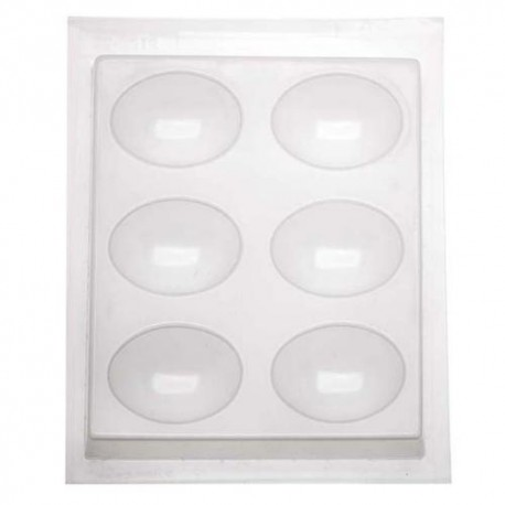 Domed Oval Mold