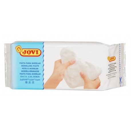 Jovi White Air Dry Modelling Clay 1kg