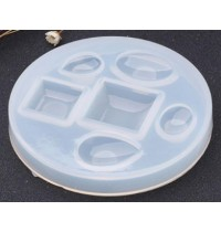 Silicone Assorted Shape Domed Cabochon Mould
