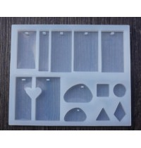 Multi Shapes Silicone Moulds