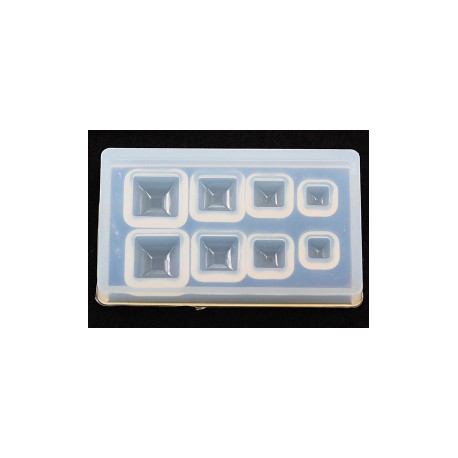 Square Rhinestone Silicone Mould