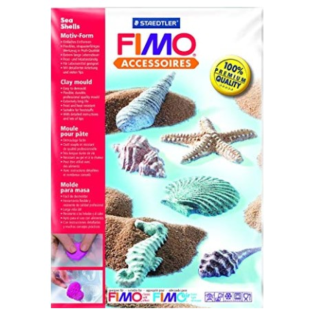 8742 08 Fimo Clay Mould - Sea Shells