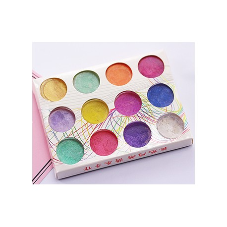 Pearl Powder Set of 12