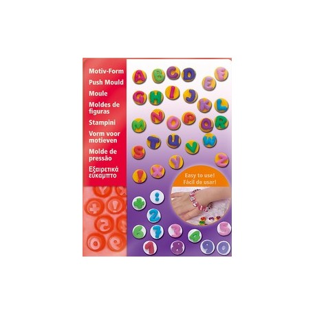 Fimo ABC 123 Flexible Push Moulds