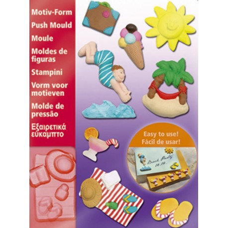 Fimo Holiday Push Moulds