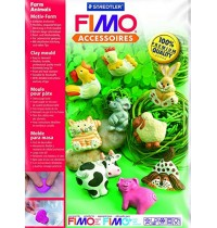 Fimo Fram Animals Push Moulds