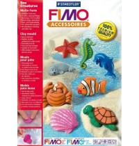 Fimo Sea Creatures Push Moulds
