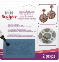 Sculpey® Silicone Bakeable Mold – Mandala