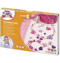 Fimo Kids Hearts Jewellery Set